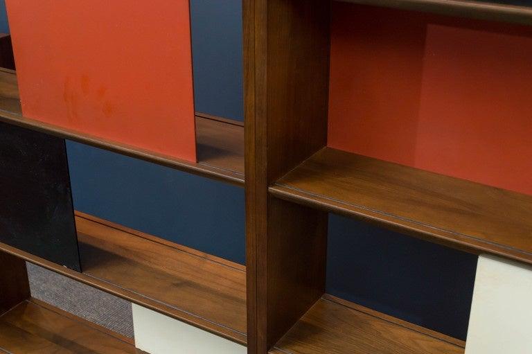 Room Divider or Bookcase by Evans Clark for Glenn 3