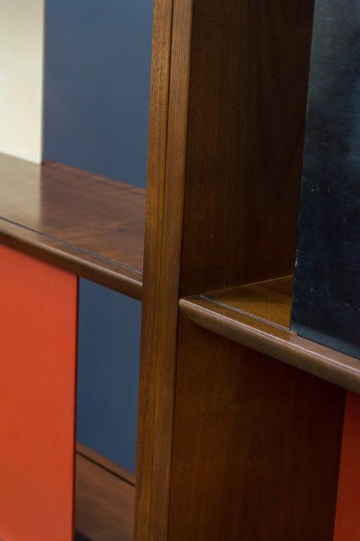 Room Divider or Bookcase by Evans Clark for Glenn 4