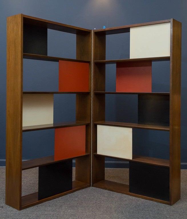 Room Divider or Bookcase by Evans Clark for Glenn 5