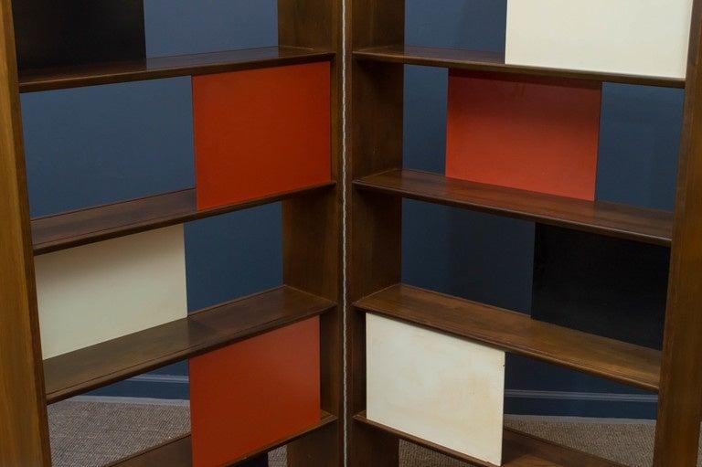 Room Divider or Bookcase by Evans Clark for Glenn 6