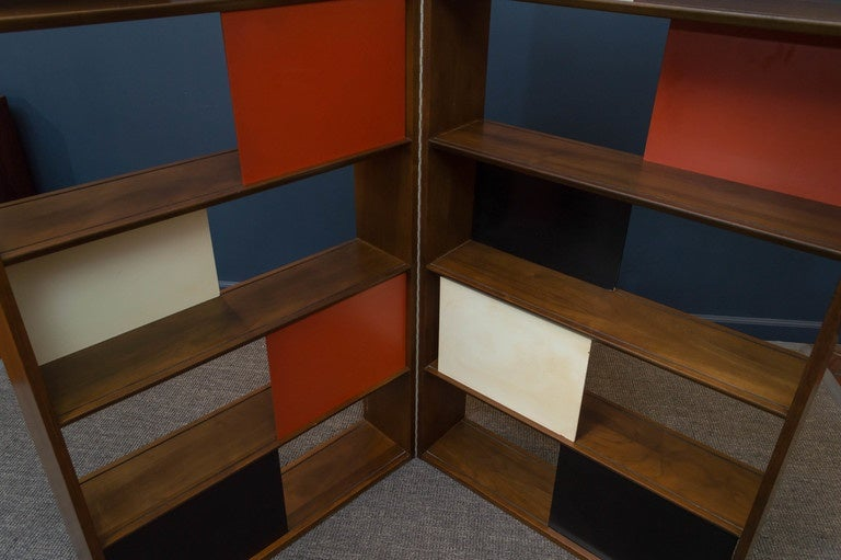 Room Divider or Bookcase by Evans Clark for Glenn 7