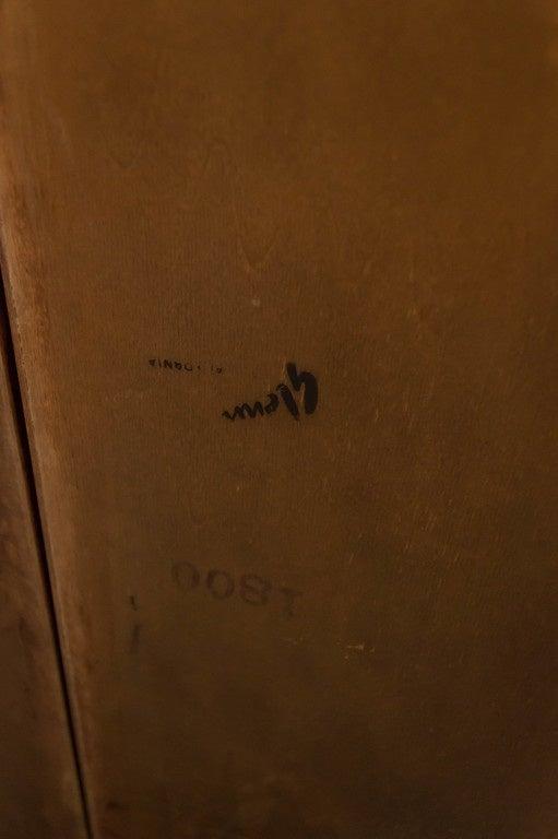 Room Divider or Bookcase by Evans Clark for Glenn 10