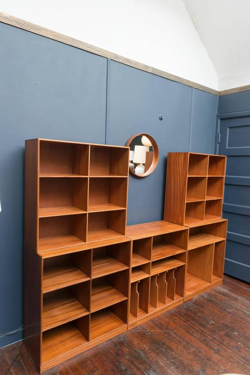 Mogens Koch Bookcase In Excellent Condition For Sale In San Francisco, CA