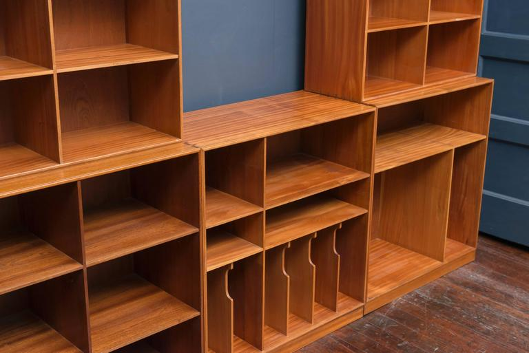 Mid-20th Century Mogens Koch Bookcase For Sale