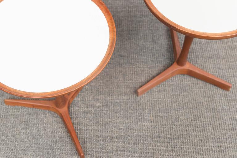 Danish Hans C Andersen Side Table For Sale