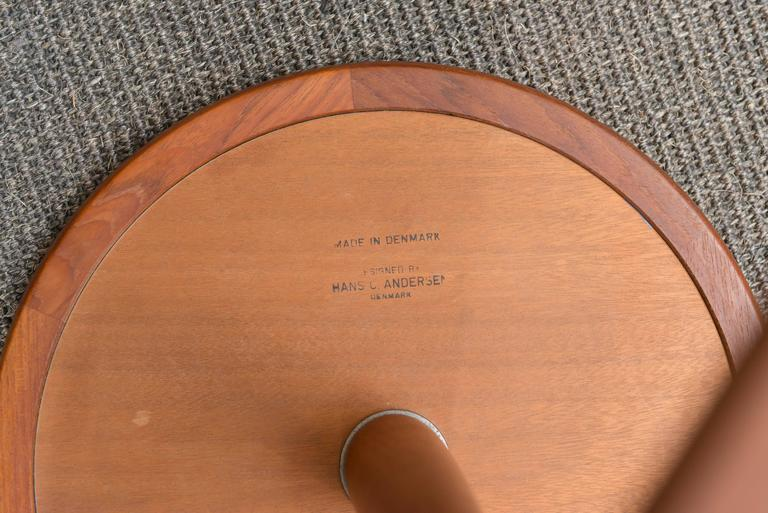Hans C Andersen Side Table In Excellent Condition For Sale In San Francisco, CA