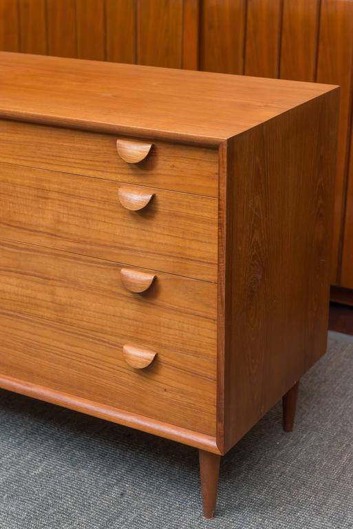 Danish Modern Chest of Drawers 4