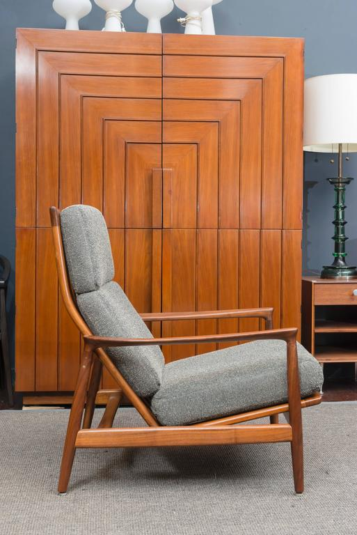 Scandinavian Modern Folke Ohlsson Danish Lounge Chair For Sale