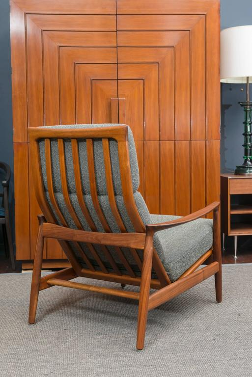 Folke Ohlsson Danish Lounge Chair In Excellent Condition For Sale In San Francisco, CA