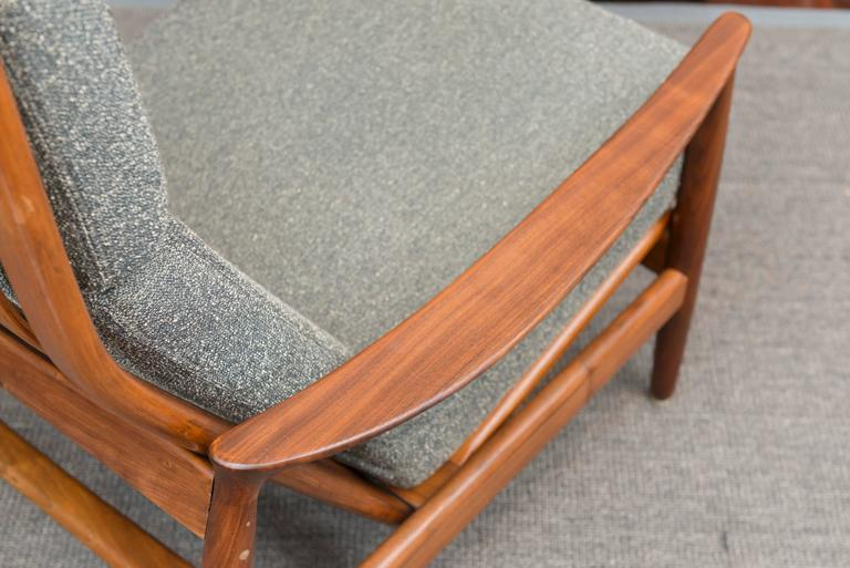 Mid-20th Century Folke Ohlsson Danish Lounge Chair For Sale