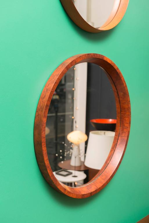 Swedish Burl Elm Mirror 2