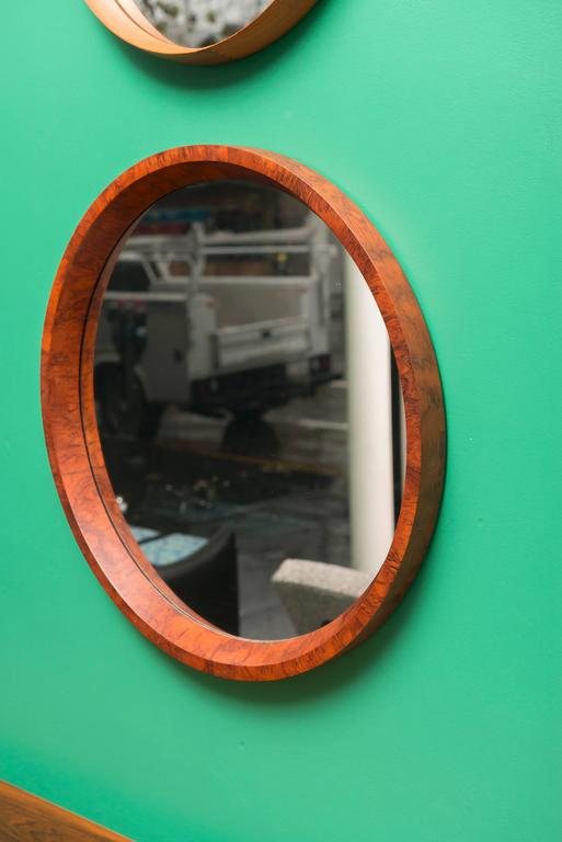 Swedish Burl Elm Mirror 3