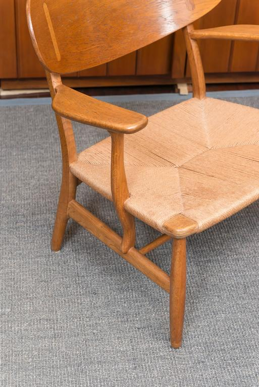 Hans Wegner Easy Chairs, Model CH 22 2