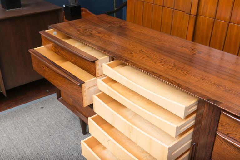 Danish Rosewood Dresser 5