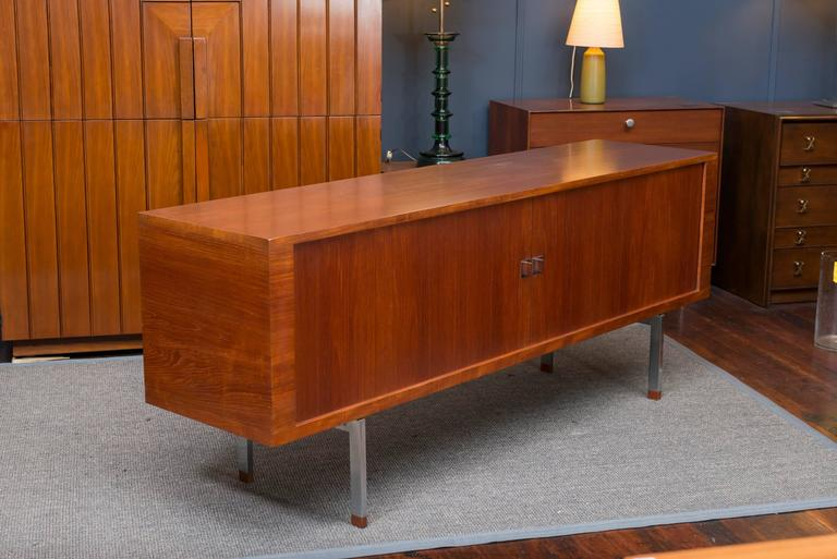 "Mid-20th Century Hans J Wegner ""President"" Credenza For Sale"
