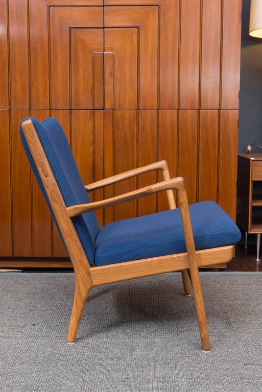Danish Hans J Wegner Lounge Chair, Model AP 16 For Sale