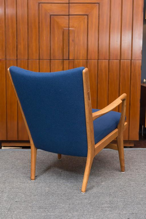 Hans J Wegner Lounge Chair, Model AP 16 In Excellent Condition For Sale In San Francisco, CA