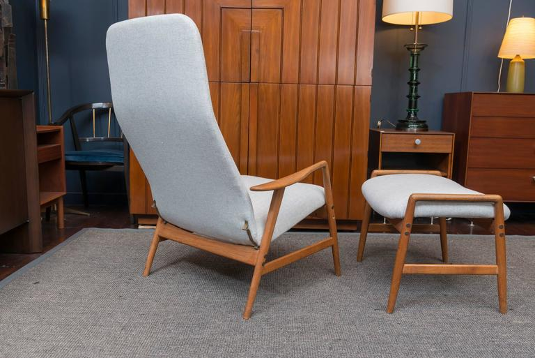 Alf Svensson DUX Lounge Chair and Ottoman 5