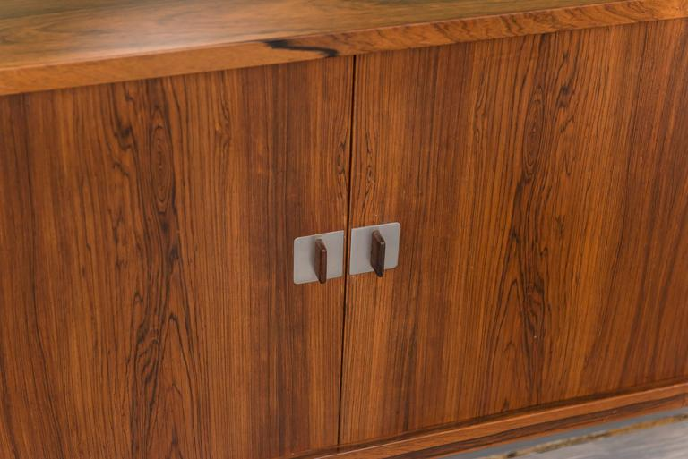 """Hans Wegner Rosewood """"President"""" Credenza In Excellent Condition For Sale In San Francisco, CA"""