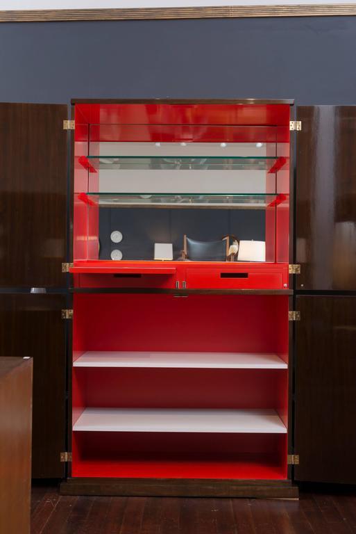 Mid-Century Modern Tommi Parzinger Bar Cabinet For Sale