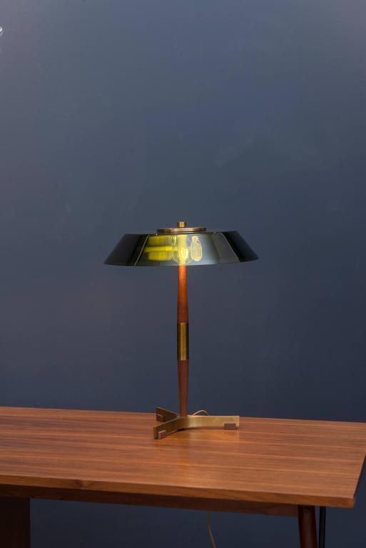 Scandinavian Modern Fog & Mørup Table Lamp For Sale