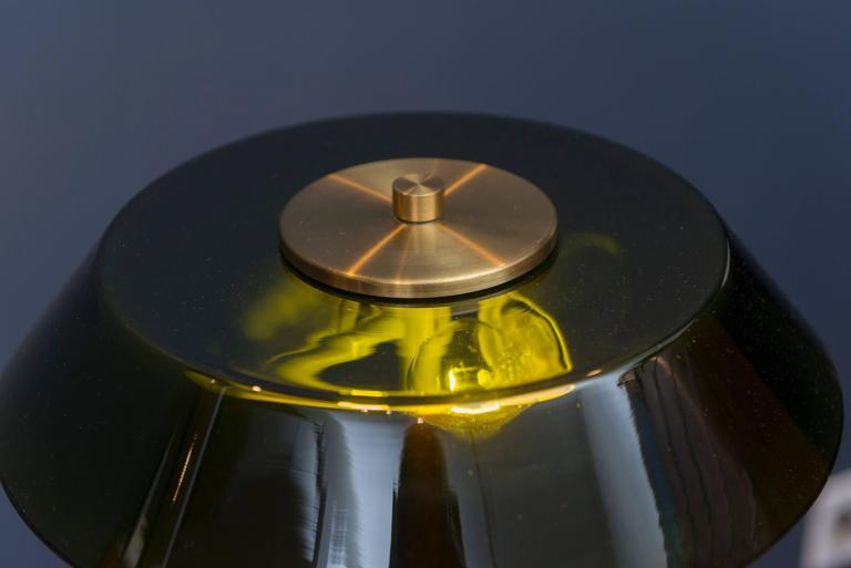 Danish Fog & Mørup Table Lamp For Sale