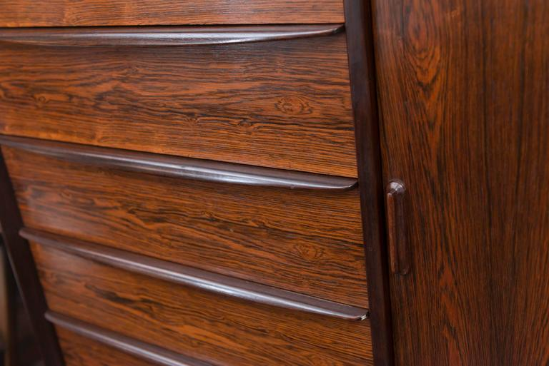 Danish Rosewood Dresser by Falster For Sale 1
