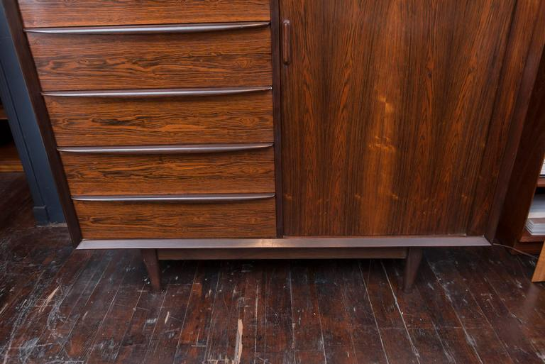 Danish Rosewood Dresser by Falster For Sale 2