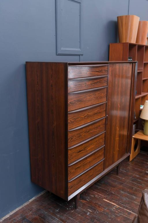 Danish Rosewood Dresser by Falster For Sale 3