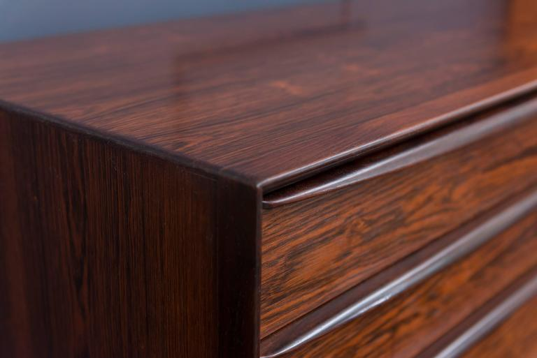 Danish Rosewood Dresser by Falster For Sale 4
