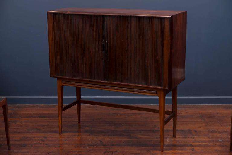Kurt Ostervig Rosewood Bar Cabinet 8