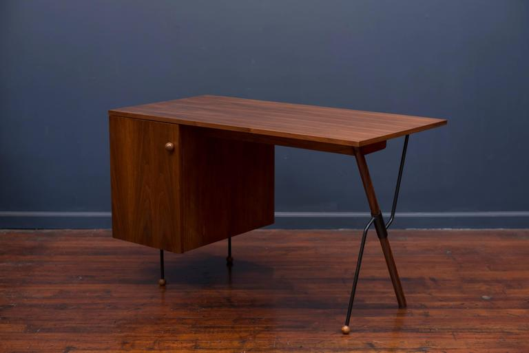 Mid-Century Modern Greta Grossman Desk For Sale