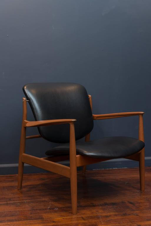 Finn Juhl Lounge Chairs FD 136 4