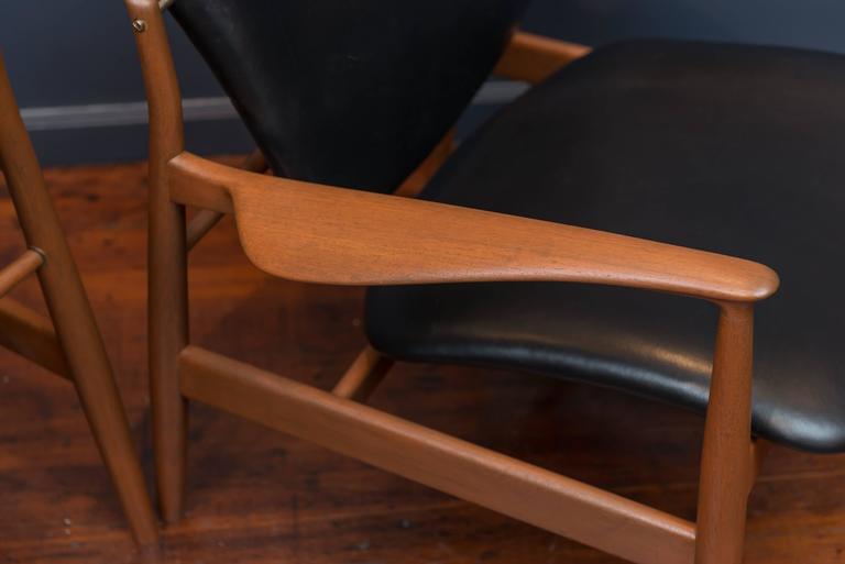 Finn Juhl Lounge Chairs FD 136 8