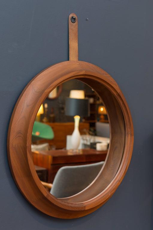 Scandinavian Modern Danish Modern Mirror For Sale