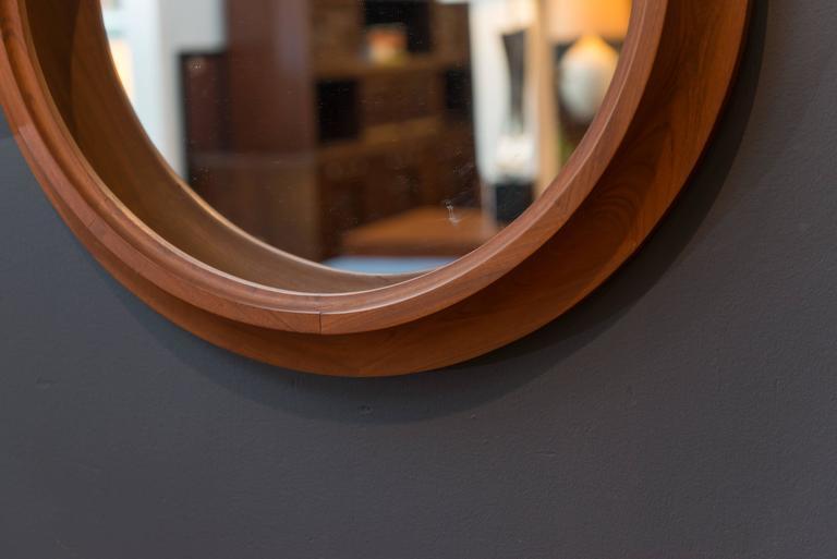 Mid-20th Century Danish Modern Mirror For Sale