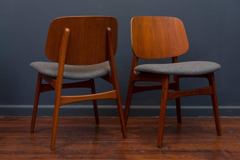 Børge Mogensen Eight Dining Chairs In Excellent Condition For Sale In San Francisco, CA