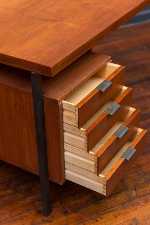 Scandinavian Modern Herbert Hirche Desk for Christian Holzapfel For Sale
