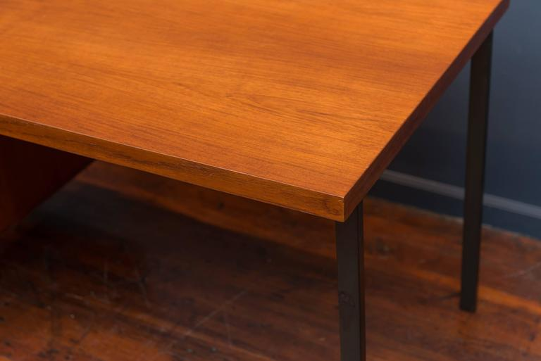 Mid-20th Century Herbert Hirche Desk for Christian Holzapfel For Sale