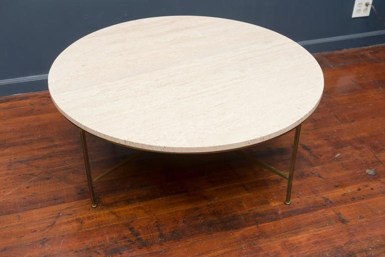Mid-Century Modern Paul McCobb Round Coffee Table For Sale