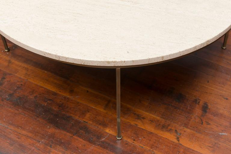 Paul McCobb Round Coffee Table In Fair Condition For Sale In San Francisco, CA