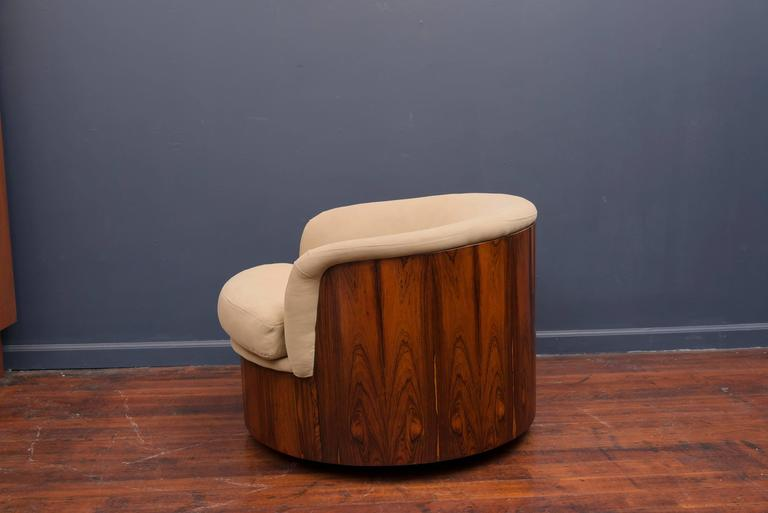 George Mulhauser for Plycraft Swivel Lounge Chair 3