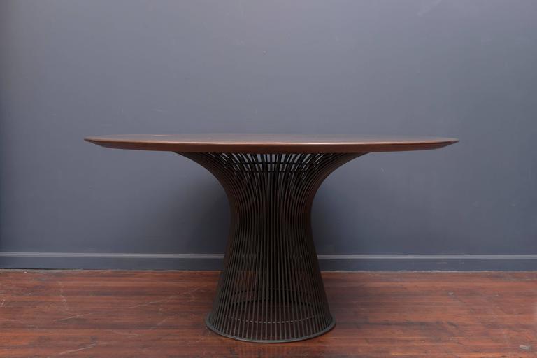 Warren Platner Bronze Dining Table for Knoll 2