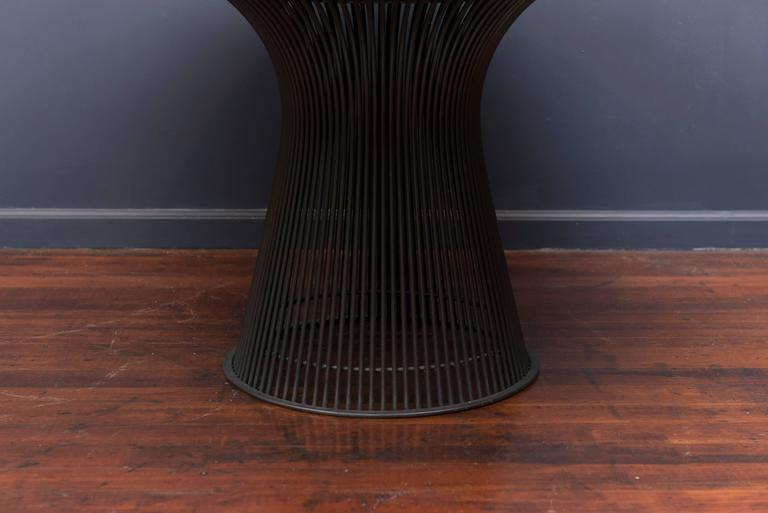 Warren Platner Bronze Dining Table for Knoll 3