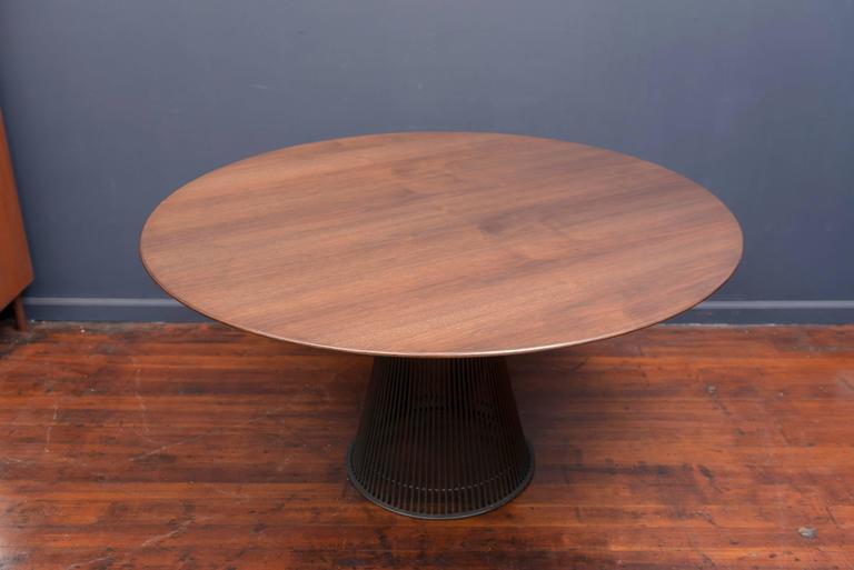 Warren Platner Bronze Dining Table for Knoll 4