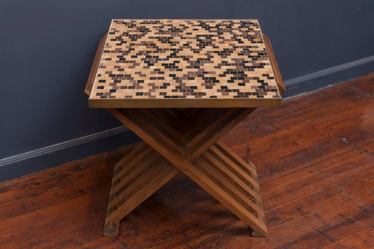 Dunbar X-Base Murano Tile-Top Table 2