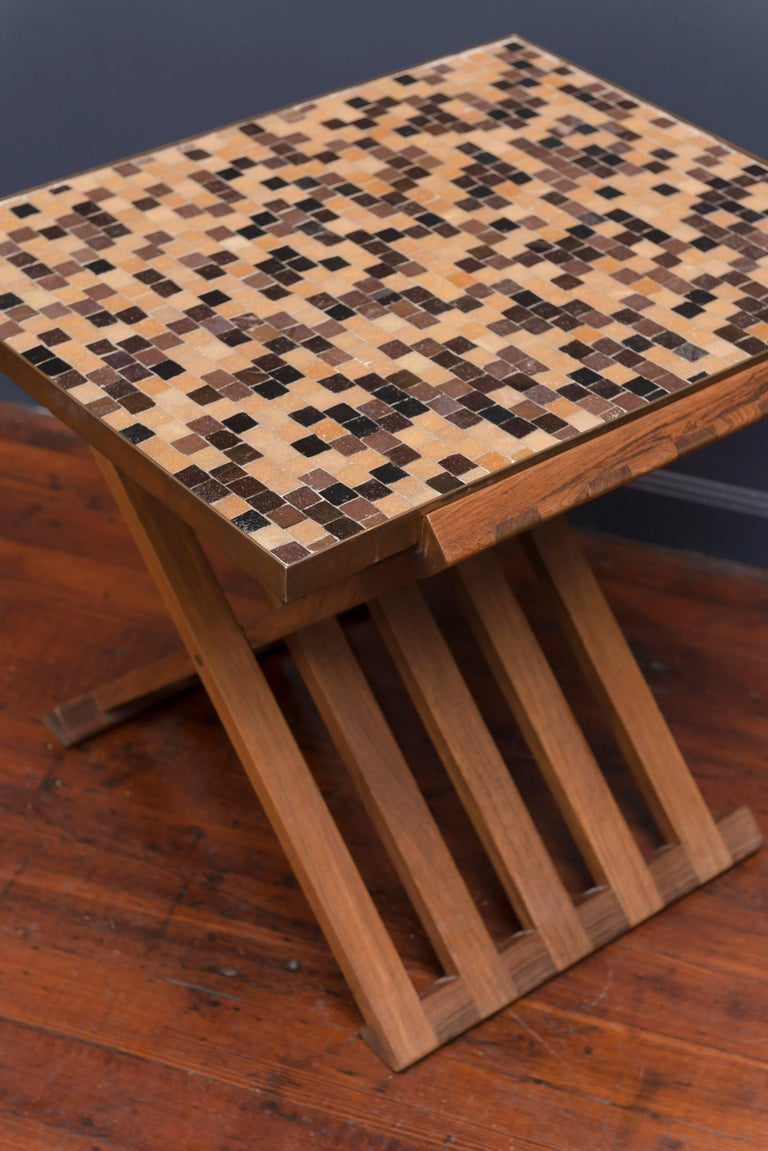 Dunbar X-Base Murano Tile-Top Table 3