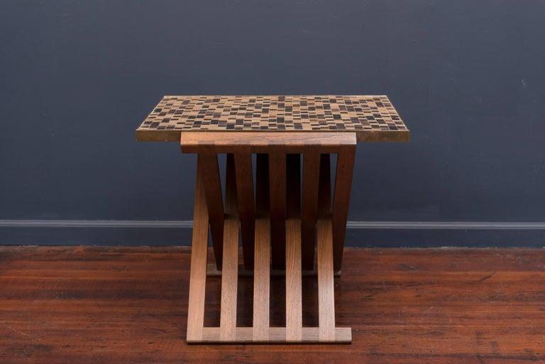 Dunbar X-Base Murano Tile-Top Table 4