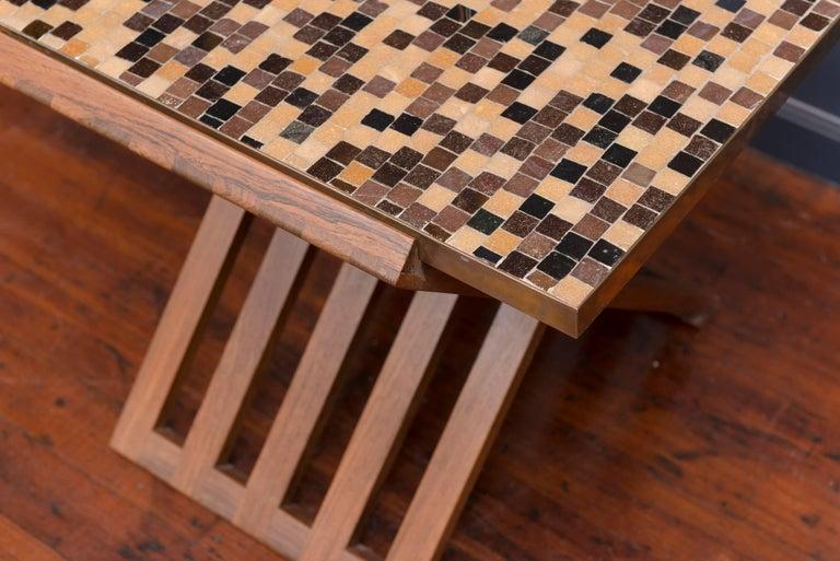 Dunbar X-Base Murano Tile-Top Table 5