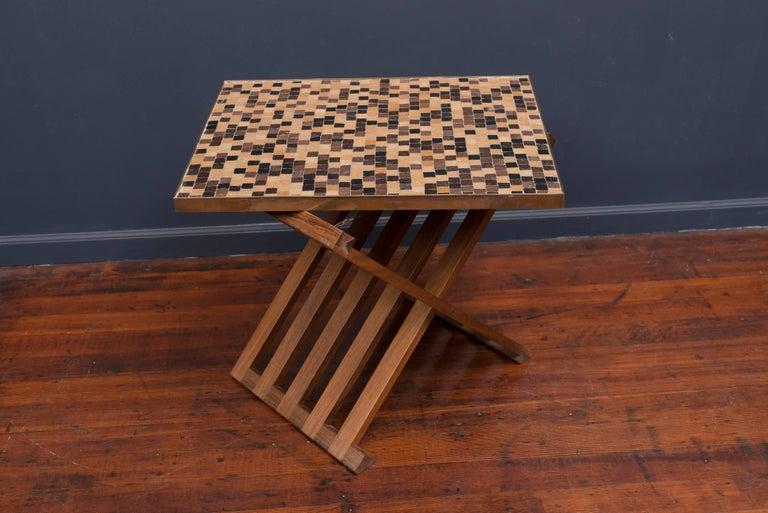 Dunbar X-Base Murano Tile-Top Table 8